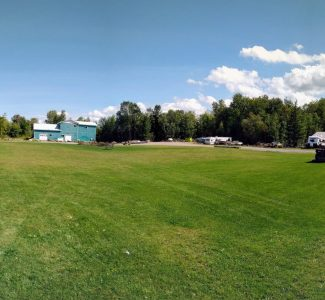 Back field (panorama)