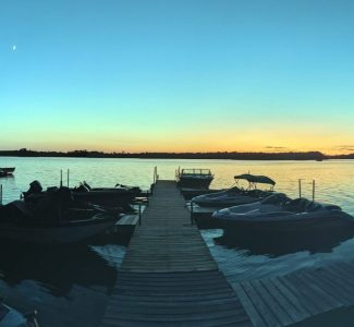 Evening Docks (Panorama)